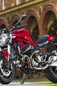 1125x2436 Ducati MOnster 821 2016