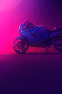 Ducati Neon 4k