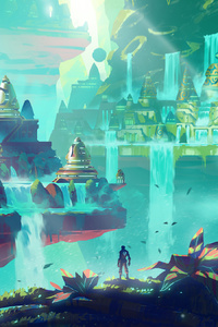 Duelyst Denizens Of Shimzar 4k