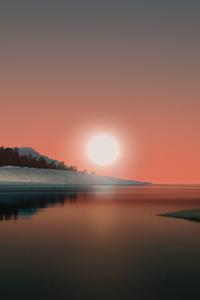 1080x1920 Dunes Minimal Night Windows 11