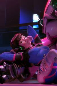 Dva Overwatch Artwork 3