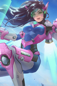 Dva Overwatch Fan Arts