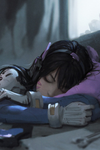 Dva Taking Nap