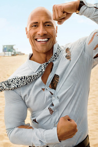 Dwayne Johnson GQ 2018