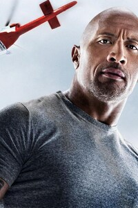 640x960 Dwayne Johnson in San Andreas Movie