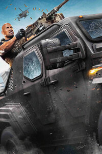 320x480 Dwayne Johnson In The Fate Of The Furious