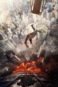 Dwayne Johnson Jumping Buildings 4k