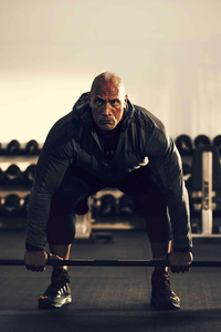 640x1136 Dwayne Johnson Under Armour 5k