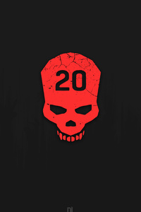 Dying Light Skull Minimalism 12k