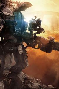1080x2280 Dystopia Titanfall 2