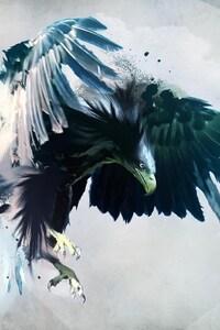 750x1334 Eagle Art