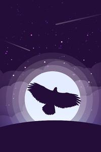 360x640 Eagle Minimalist