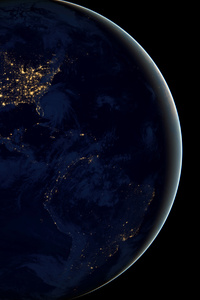 Earth From Space 4k · 640x960 Earth From Space 4k