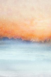 Earth Scenic Clouds Sea Sky Horizon 5k
