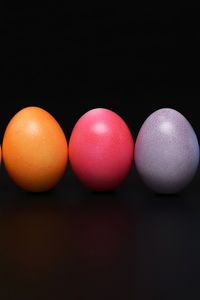 240x320 Easter Eggs Colorful