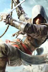 2160x3840 Edward Kenway In Assassins Creed 4