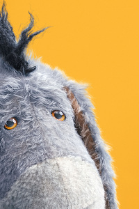 Eeyore In Christopher Robin 2018 Movie 5k