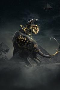Egyptian Dino 4k