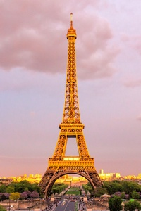 320x480 Eiffel Tower In Paris