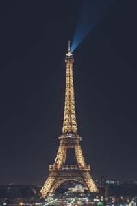 320x480 Eiffel Tower Nightscape