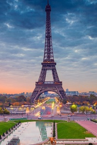 Eiffel Tower Paris Beautiful View