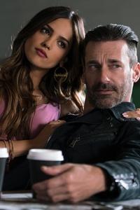 Eiza Gonzalez And Jon Hamm In Baby Driver 4k 5k
