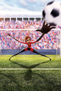Elastigirl In The Incredibles 2 Fifa World Cup Russia