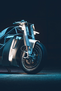 640x1136 Electric Bike 4k