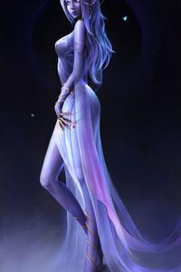 540x960 Elf Azralith Fantasy 4k