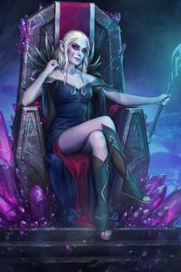 Elf Queen Art
