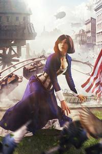 720x1280 Elizabeth BioShock Cosplay 4k