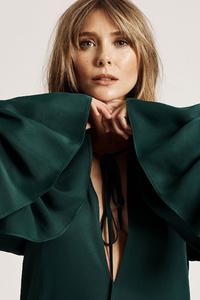 1440x2960 Elizabeth Olsen 2019 Instyle