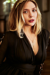Elizabeth Olsen Closeup Portrait 2019