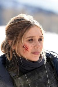 Elizabeth Olsen In Wind River Movie