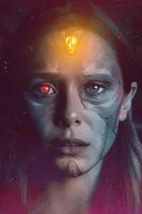 Elizabeth Olsen Wanda Vision 4k