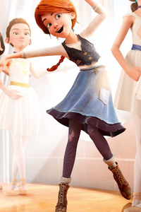 Elle Fanning Felicie Milline In Ballerina
