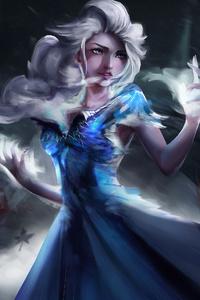 240x320 Elsa Forzen 2