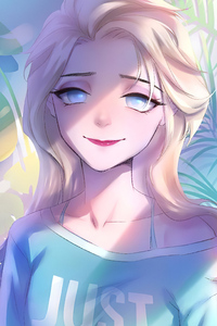 Elsa Frozen Artwork