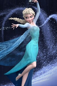 Elsa In Frozen Movie