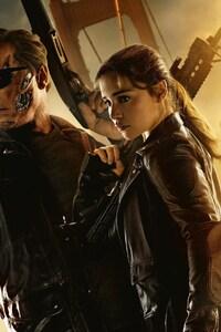 750x1334 Emilia Clarke Arnold Terminator