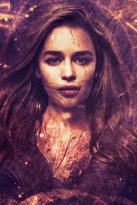 720x1280 Emilia Clarke As Daenerys Targaryen Art