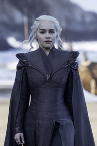 Emilia Clarke As Daenerys Targaryen In Game Of Thrones Season 7