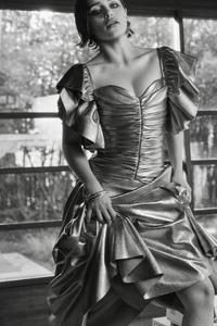 Emilia Clarke Flaunt Magazine Monochrome