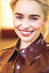 320x480 Emilia Clarke For Grazia Photoshoot
