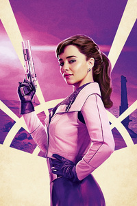 Emilia Clarke In Solo A Star Wars Story Movie