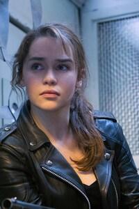 640x1136 Emilia Clarke In Terminator