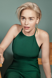 Emilia Clarke Vanity Fair 2018 Photoshoot