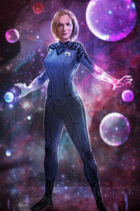 Emily Blunt As Sue Storm Artwork