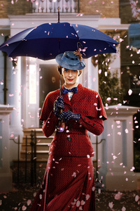 1080x2160 Emily Blunt In Mary Poppins Returns Movie 8k