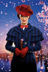 1080x2160 Emily Blunt Mary Poppins Returns 8k